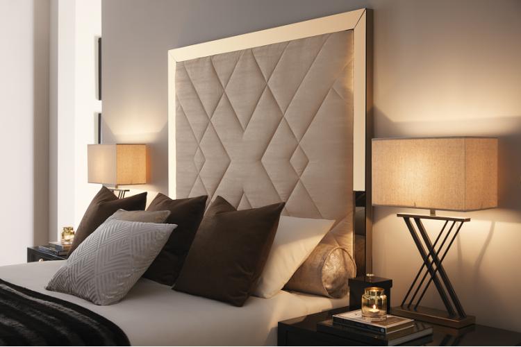 Amalthea Headboard and Storage Bed