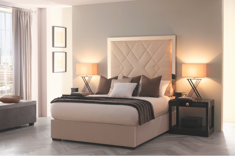 Amalthea Headboard and bed