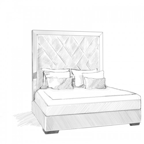 Amalthea Headboard and Storage Bed