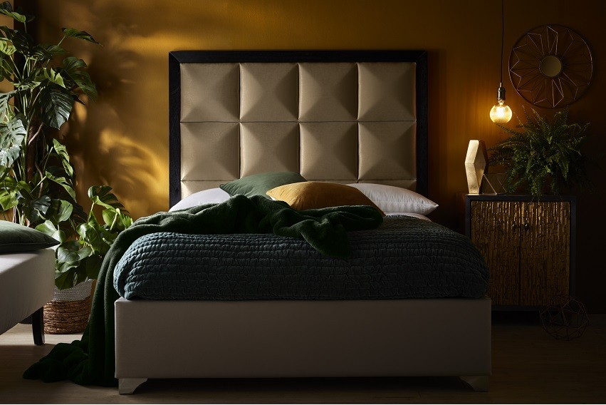 Capella Headboard and Bed