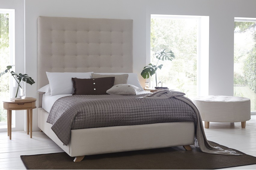 Zeta Headboard and Storage Bed