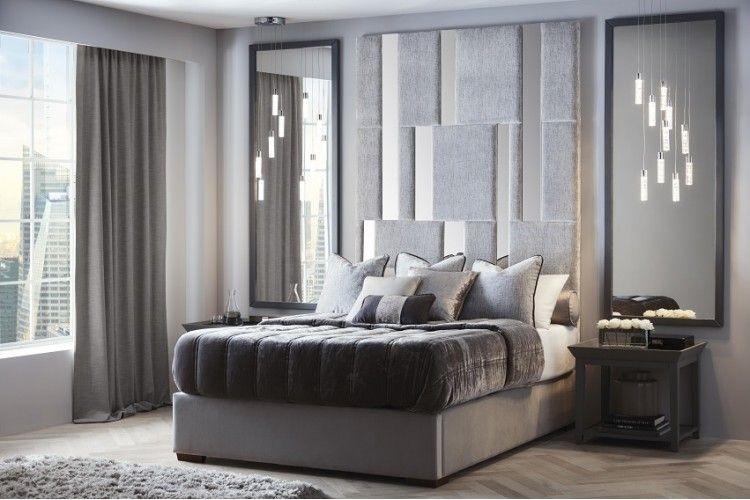 Carme Headboard and Storage Bed