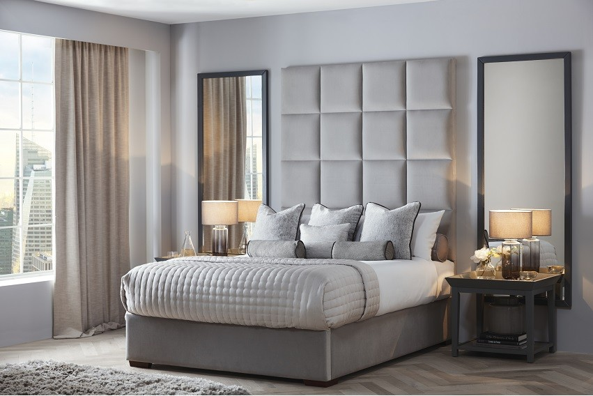 Chiaro Headboard and Storage Bed