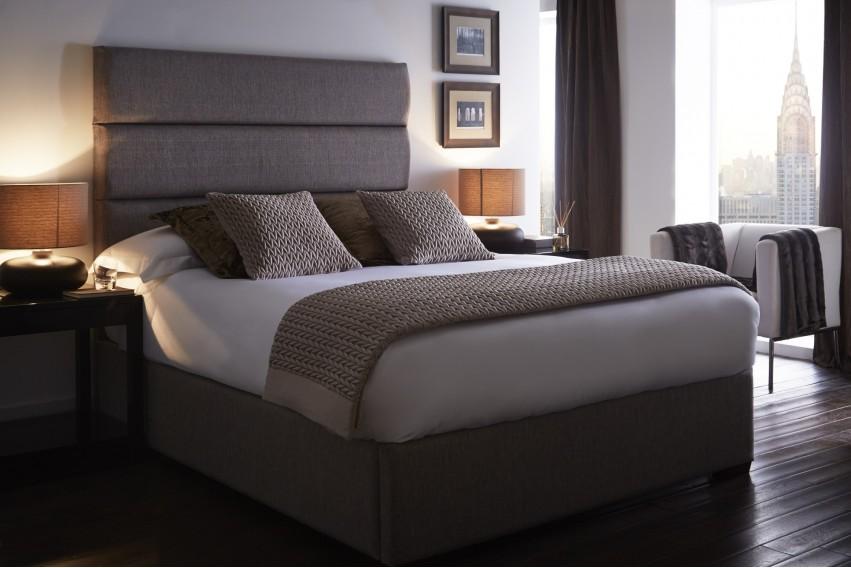 Adara Headboard and Storage Bed
