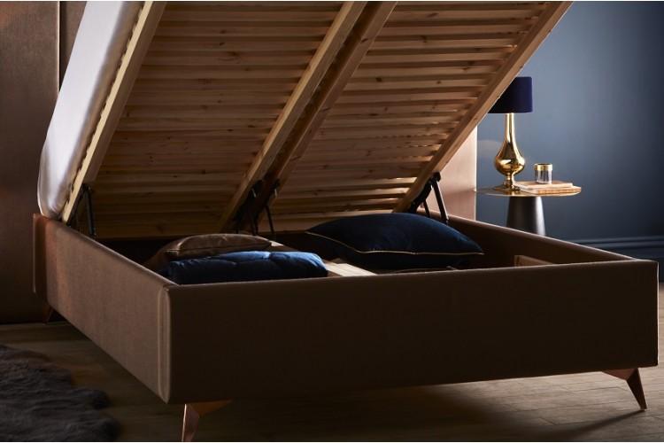 Aquila Headboard and Storage Bed