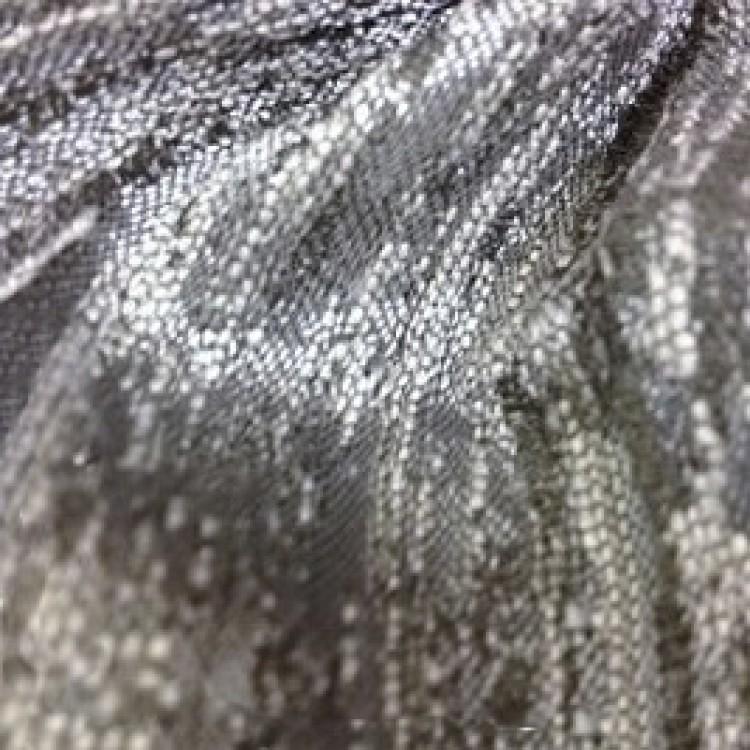 Metallic Linen Blend