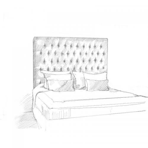 Eta Carinae Headboard and Bed