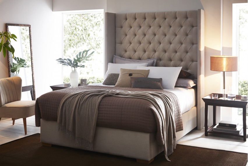 Cygnus Headboard and Bed