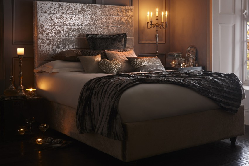 Sansa Headboard and Bed