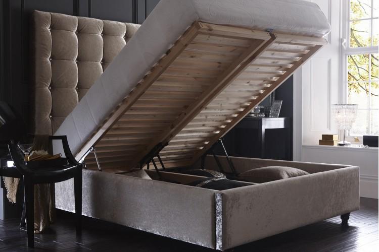 Aurora Headboard and Storage Bed