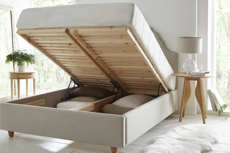Estella Headboard and Storage Bed