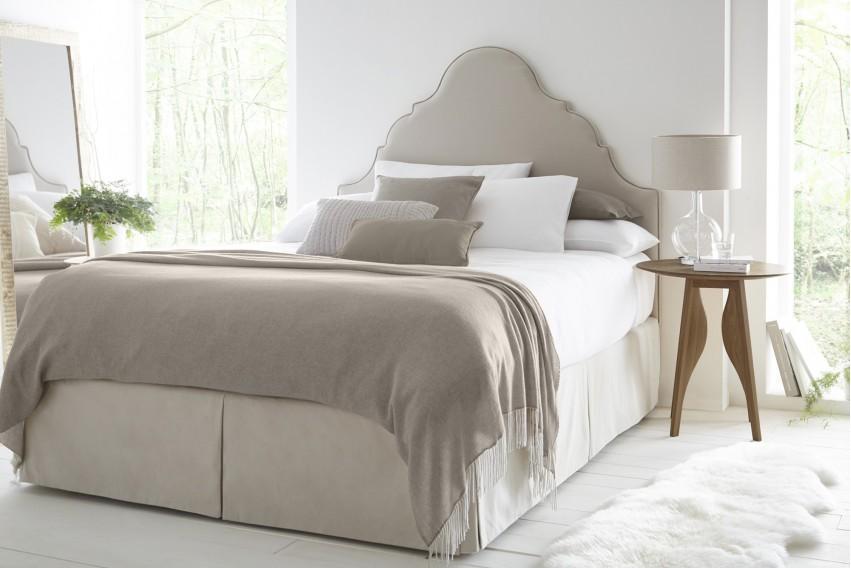 Estella Headboard and Bed