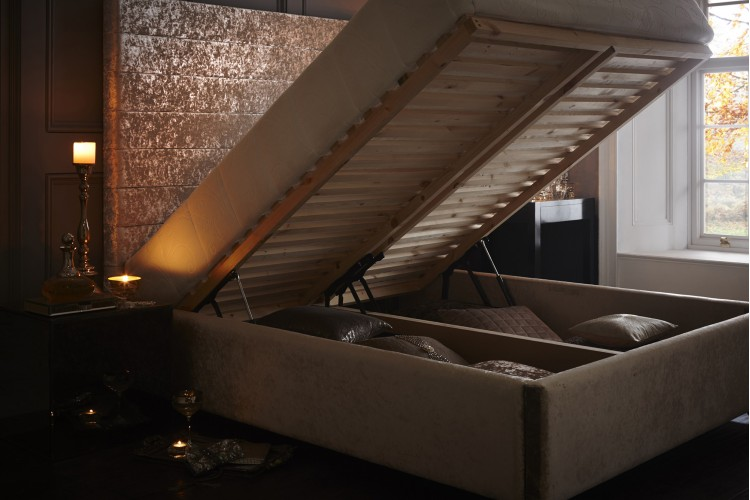 Sansa Headboard and Storage Bed