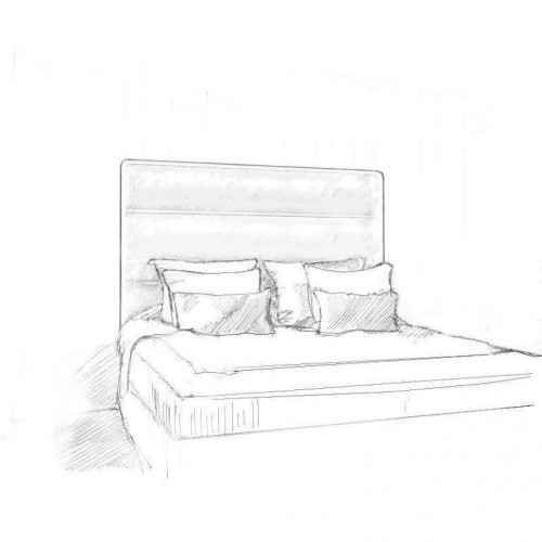 Adara Headboard and Bed